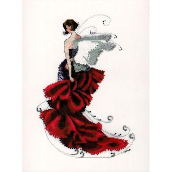 Duendecillo Amapola Nora Corbett NC123 Pixie Couture Poppy