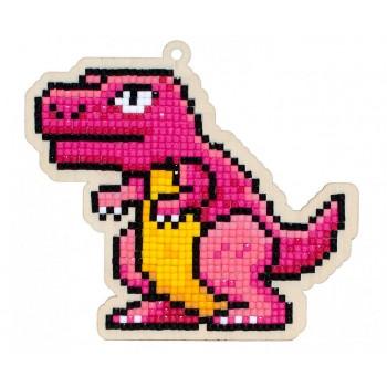 Dinosaurio Rex con Diamantes Wizardi WWP292