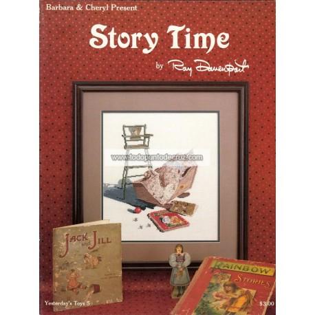 Hora de cuentos Barbara & Cheryl Story Time Yesterday's Toys 5