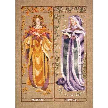 Las Doncellas de las Estaciones II Mirabilia MD74 Maidens of the Seasons