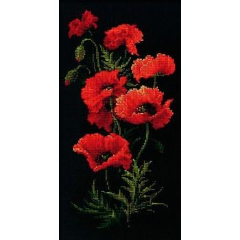 Amapolas RIOLIS 1057 Poppies