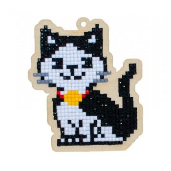 Gato Óscar con diamantes Wizardi WWP194 cat
