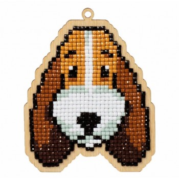 Perrito Buddy con diamantes Wizardi WWP105 dog