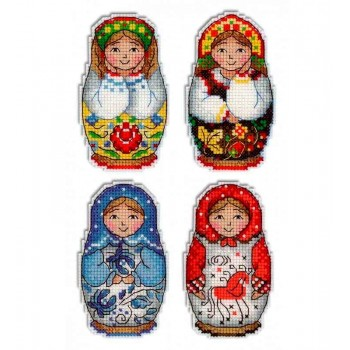 Imanes Matriuskas MP Studia 337 Russian Dolls magnets