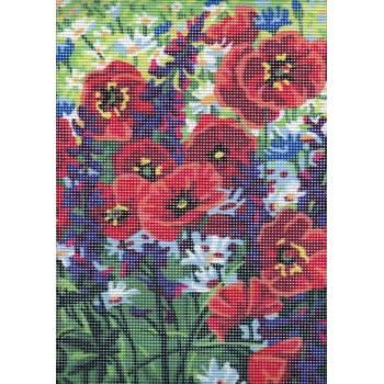 Amapolas Silvestres Collection D'Art 6319K Poppy Field