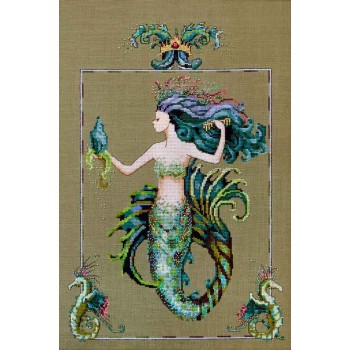 Mirabella, la Sirena del Cabello Azulado Mirabilia MD98 Bluebeard's Princess