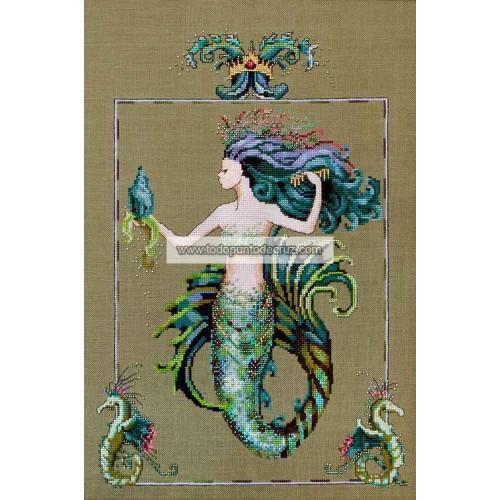 Mirabella, la Sirena del Cabello Azulado