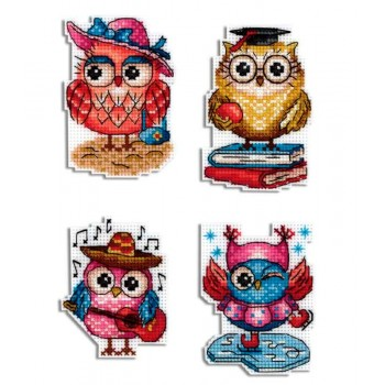 Imanes historias de búhos MPStudia 487 Owl Stories magnets