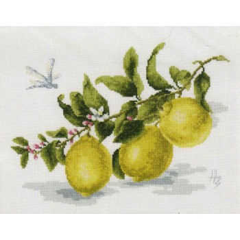 Rama de Limones Golden Fleece FS-006 Branch of Lemon