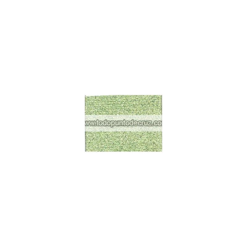 Hilo Petite Treasure Braid PB56 Pale Avocado Midnight Green de Rainbow Gallery