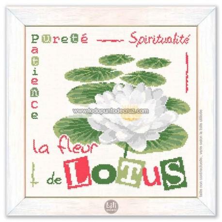 Flor de Loto Lili Points J017 Lotus