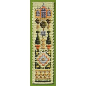 Jardín de Naranjos Textile Heritage BKOG Orangery Bookmark