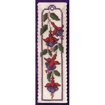 Fucsias Marcapáginas Textile Heritage BKFU Fuchsias Bookmark