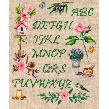 Abecedario del Jardín Vervaco PN-0183197 Garden Alphabet