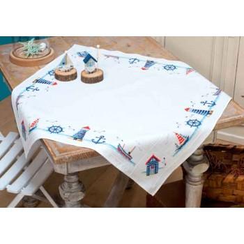 Mantel Marinero Vervaco PN-0147141 Maritime Design Tablecloth