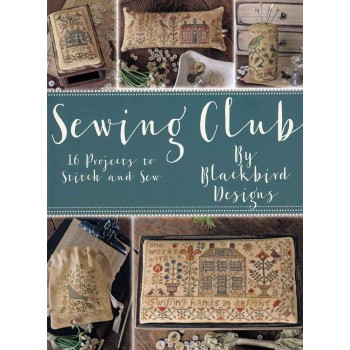 El Club de Costura Blackbird Designs 315 Sewing Club