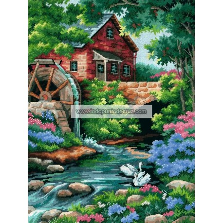 El Antiguo Molino Dimensios 02484 Old Mill Cottage