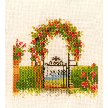 Arco con Flores Lanarte PN-0162522 Gardenfence with flowers