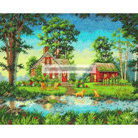 La Cabaña del Verano Dimensions D70-35340 Summer Cottage