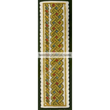 Nudo Celta Marcapáginas Textile Heritage BKNCK Celtic Knot Bookmark