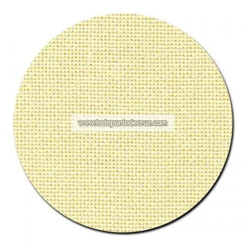 Tela lugana 25 ct. Amarillo Pastel
