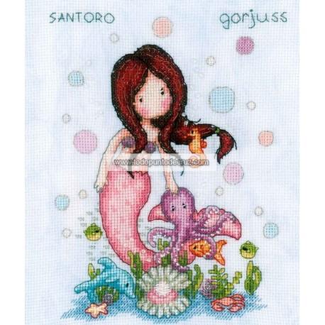 Gorjuss Sirenita Vervaco PN-0187813 So Nice to Sea You