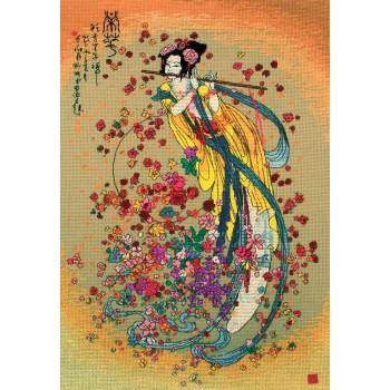La Diosa de la Prosperidad Maia 5678000-01205 Goddess of Prosperity
