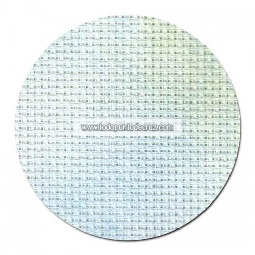 Tela aida 14 ct. Azul/Verde Marmolado