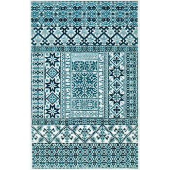Azul Español Sampler Cove Designs SC1015 Spanish Bleu