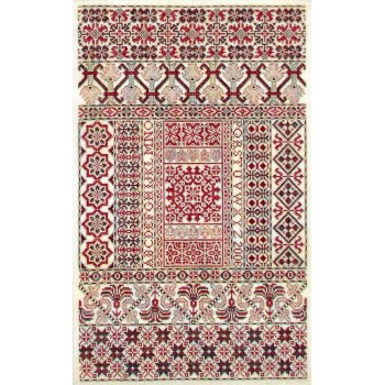 Rojo Español Sampler Cove Designs SC1005 Spanish Rouge