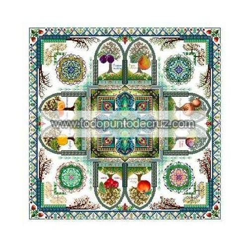 Mandala del Jardín Frutal Medieval