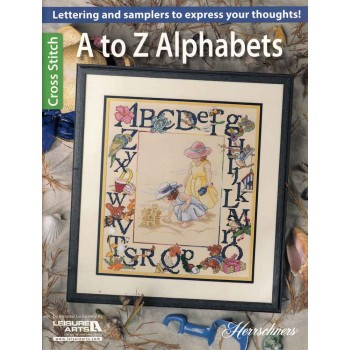 Abecedarios de la A a la Z Leisure Arts A to Z alphabets
