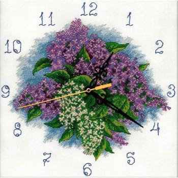 Reloj de Lilas Panna CH-1771 Lilac Clock