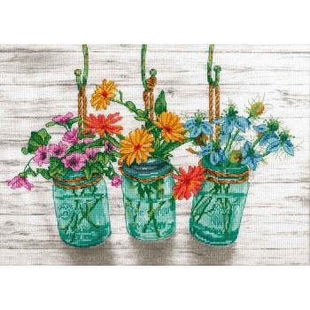 Frascos con Flores Dimensions 70-35378 FLowering Jars