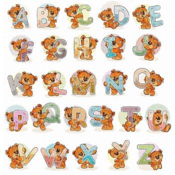 Abecedario Ositos Luca-S B1201 Bear Alphabet