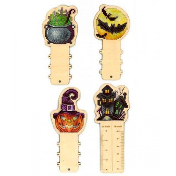 Accesorios Halloween en Madera MP Studia O 005 Funny Horror Stories Ruler + 3 Reels