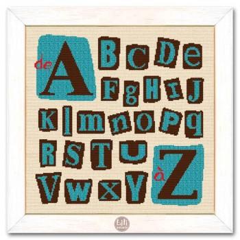 Abecedario en 4 versiones Lili Points CL004 abecedaire