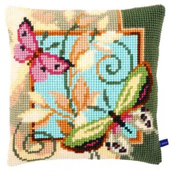 Cojín dos Mariposas Vervaco PN-0154959 Deco Butterflies Pillow