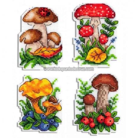 Imanes Setas MP Studia P-486 Mushrooms Magnets