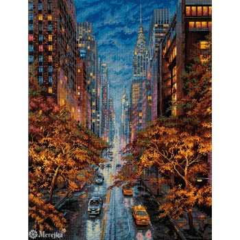 Nueva York en Otoño Merejka K-172 Autumn Aura