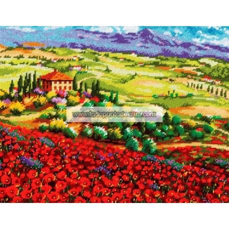 Amapolas de Toscana Dimensions 71-20084 Tuscan Poppies