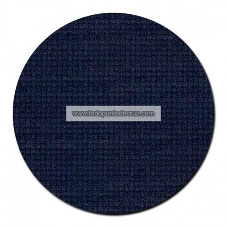 Tela Aida 16 Azul Marino Permin 355-98 Navy Blue