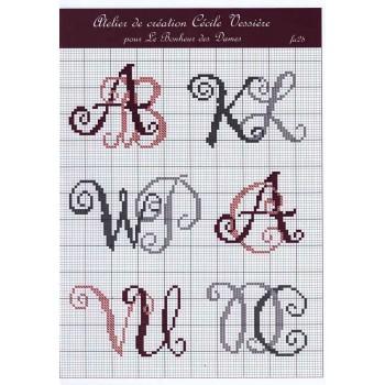 Fascículo Letras Bonheur des Dames FA28