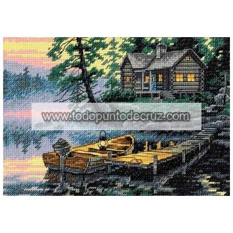 Lago al Amanecer Dimensions D65091 Morning Lake