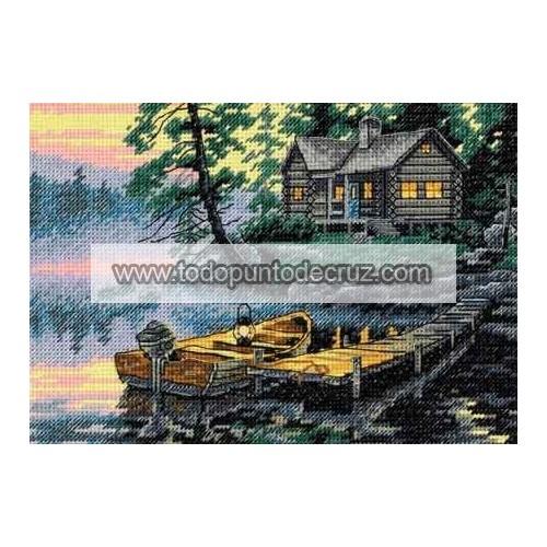 Lago al Amanecer