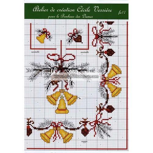 Fascículo Mantel Navidad