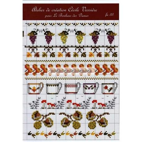 Fascículo Frutas del Otoño FA33 Le Bonheur des Dames