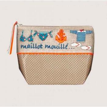 Neceser a la Playa Le Bonheur des Dames 9047 Trousse Maillot