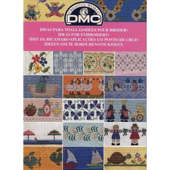 Librito Ideas para Toallas DMC 12739