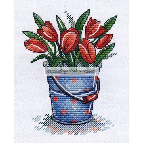 Maceta de Tulipanes MPS 337 Tulips